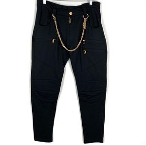 Pierre Balmain | 905 Chain Detail Tapered Pants